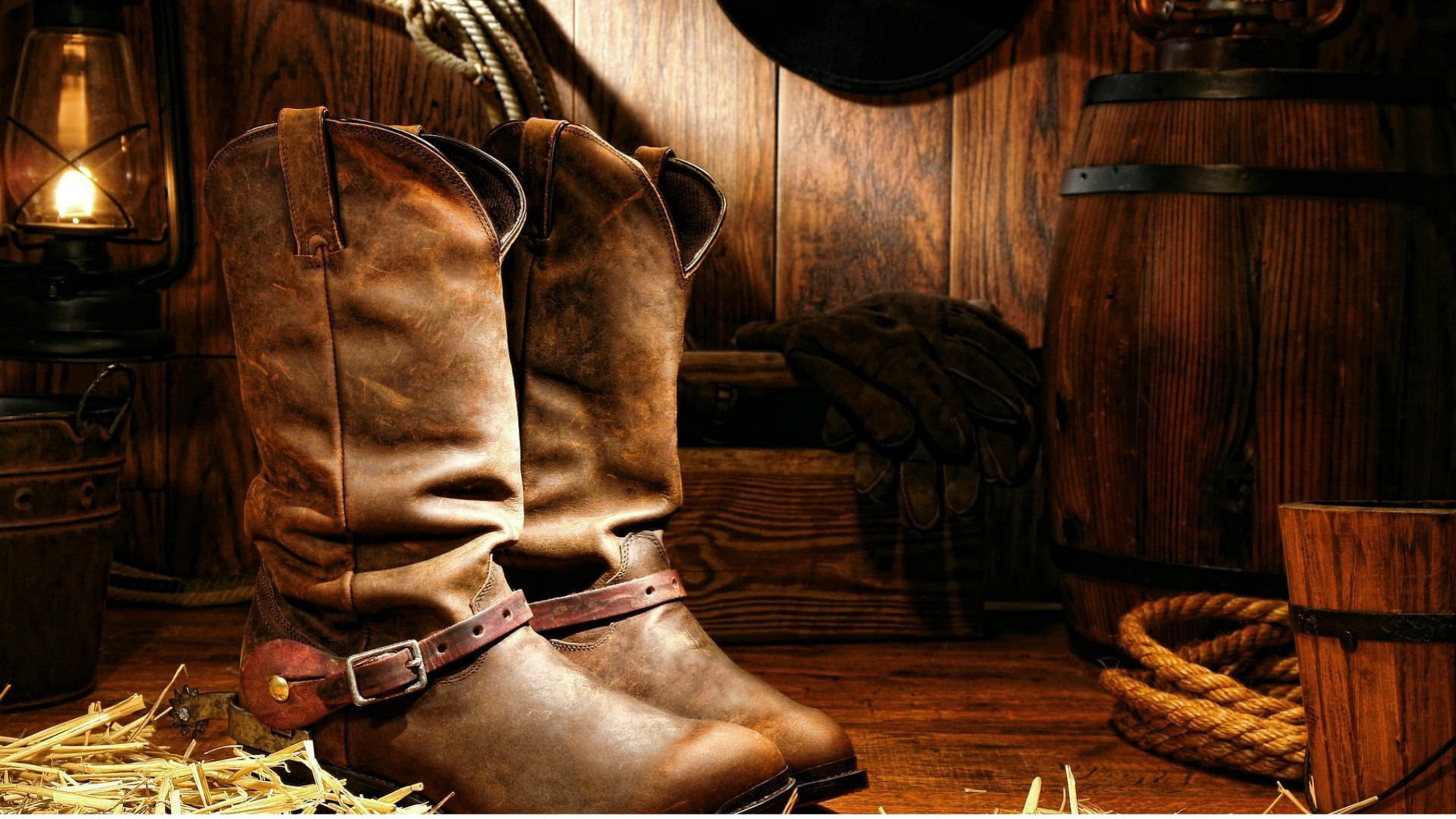 Cowhide-Boots